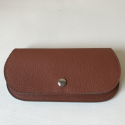 NANELI VOF - Russet leather Iphone cover with extra compartment # 2